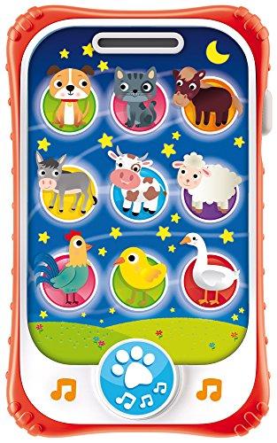 Lisciani Giochi- Carotina Baby Touch Phone Ninna Nanna 2 in 1, 65479.0 - 1