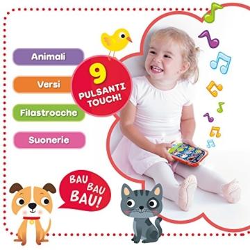 Lisciani Giochi- Carotina Baby Touch Phone Ninna Nanna 2 in 1, 65479.0 - 3
