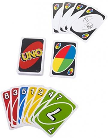 Mattel UNO Gioco di Carte, W2087 - 2