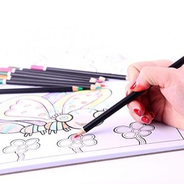 MONT MARTE Set Pittura Premium Essenziale - 90 Pezzi - Set Disegno di alta qualità in elegante Valigia di Metallo - Ideale come regalo - Perfetto per Bambini, Principianti, Professionisti e Artisti - 6