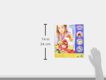 Play-Doh - La Pizzeria (playset con 5 vasetti di pasta da modellare, Versione 2019), Multicolore, E4576EU4 - 12