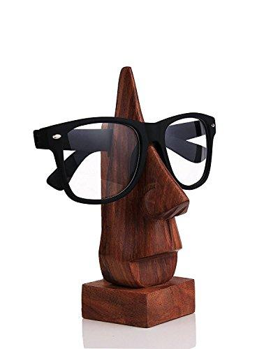 WhopperIndia classico fatto a mano in legno naso forma occhiali porta occhiali da sole occhiali da sole titolare perfetto arredamento per la casa - 1