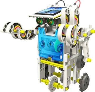 14-in-1 Educational Solar Robot Kit - 1