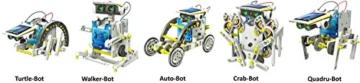 14-in-1 Educational Solar Robot Kit - 2