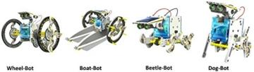 14-in-1 Educational Solar Robot Kit - 3