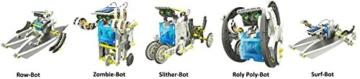 14-in-1 Educational Solar Robot Kit - 4