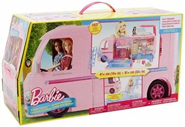 Barbie FBR34 Camper dei Sogni per Bambole con Piscina, Bagno, Cucina e Tanti Accessori, Giocattolo per Bambini 3 + Anni, - 7