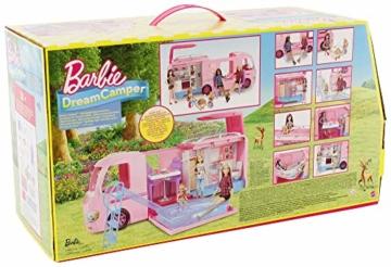 Barbie FBR34 Camper dei Sogni per Bambole con Piscina, Bagno, Cucina e Tanti Accessori, Giocattolo per Bambini 3 + Anni, - 8