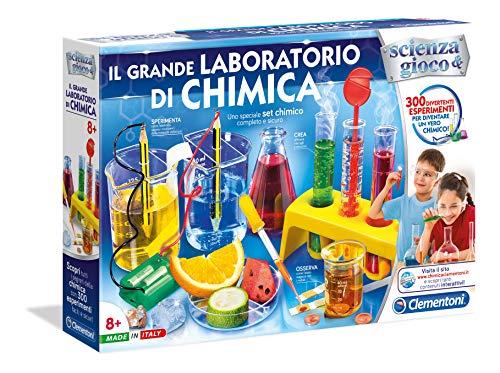 Clementoni 13912 - Giochi Educativi e Scientifici, Il Grande Laboratorio di Chimica - 1