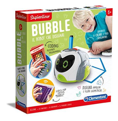 Clementoni-16621-Sapientino-Bubble, Robot educativo per Bambini, Multicolore, 16621 - 1
