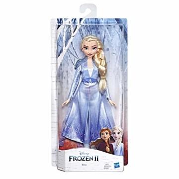 Disney Frozen 2 - Elsa (Fashion Doll con Capelli Lunghi e Abito Blu, Ispirata Al Film Frozen 2) - 3