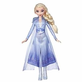Disney Frozen 2 - Elsa (Fashion Doll con Capelli Lunghi e Abito Blu, Ispirata Al Film Frozen 2) - 1