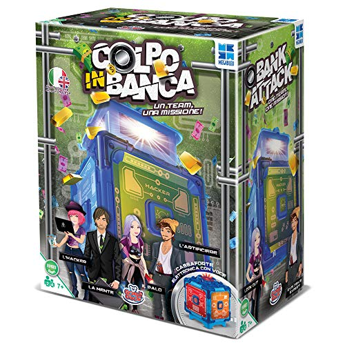 Grandi Giochi MB678574, Colpo in Banca, Multicolore - 1