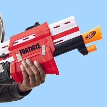Hasbro Nerf- Fornite Mega Blaster con dardi, Colore Rosso, E7065EU4 - 10