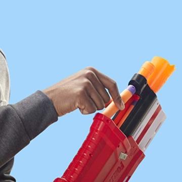 Hasbro Nerf- Fornite Mega Blaster con dardi, Colore Rosso, E7065EU4 - 11
