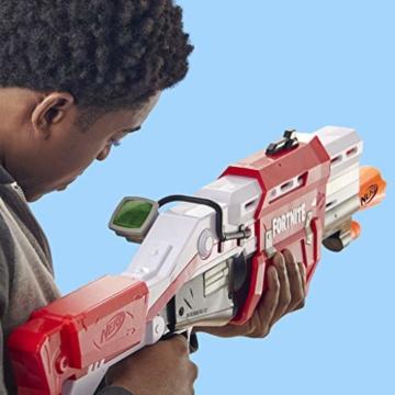 Hasbro Nerf- Fornite Mega Blaster con dardi, Colore Rosso, E7065EU4 - 13