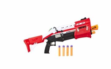 Hasbro Nerf- Fornite Mega Blaster con dardi, Colore Rosso, E7065EU4 - 2