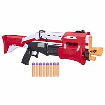 Hasbro Nerf- Fornite Mega Blaster con dardi, Colore Rosso, E7065EU4 - 3