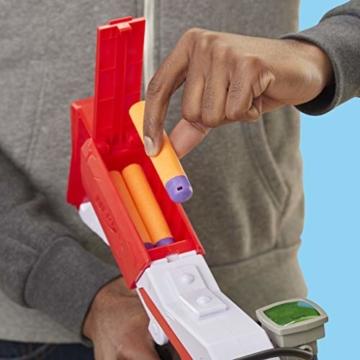 Hasbro Nerf- Fornite Mega Blaster con dardi, Colore Rosso, E7065EU4 - 7
