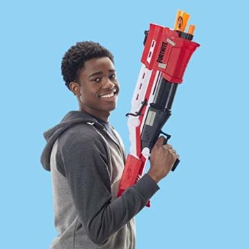 Hasbro Nerf- Fornite Mega Blaster con dardi, Colore Rosso, E7065EU4 - 9