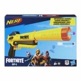 Hasbro Nerf Fortnite SP-L, Blaster Ufficiale con 6 Dardi, Colore Giallo, E6717EU4 - 1
