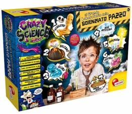 Lisciani Giochi - 77502 Gioco per Bambini Crazy Science il Grande Laboratorio dello Scienziato Pazzo - 1