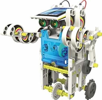 Lisciani Giochi- Scienza Hi Tech Robot 14 Modelli Energia Solare, Multicolore, 73245 - 2