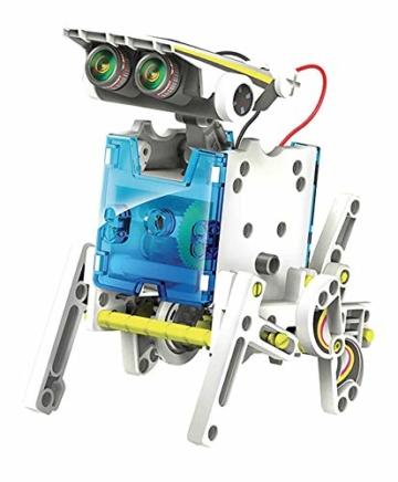 Lisciani Giochi- Scienza Hi Tech Robot 14 Modelli Energia Solare, Multicolore, 73245 - 3