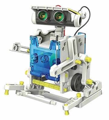 Lisciani Giochi- Scienza Hi Tech Robot 14 Modelli Energia Solare, Multicolore, 73245 - 4