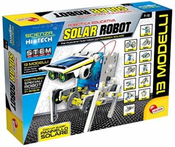 Lisciani Giochi- Scienza Hi Tech Robot 14 Modelli Energia Solare, Multicolore, 73245 - 1