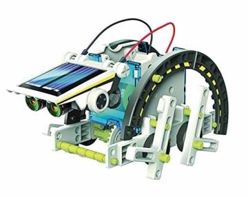 Lisciani Giochi- Scienza Hi Tech Robot 14 Modelli Energia Solare, Multicolore, 73245 - 5