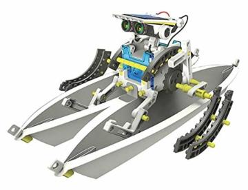 Lisciani Giochi- Scienza Hi Tech Robot 14 Modelli Energia Solare, Multicolore, 73245 - 6