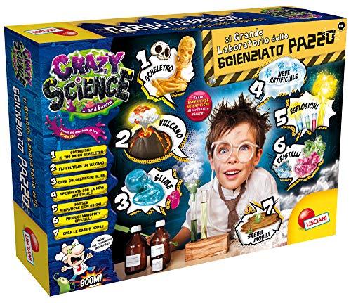 Liscianigiochi- Crazy Science Il Grande Laboratorio dello Scienzia, Multicolore, 68654 - 1