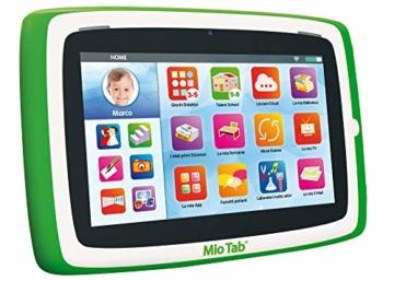 """Liscianigiochi-Mio Tab 7"""" Preschool Tablet Prescolare, 16 GB Memoria Flash, espandibile, 71968 - 1"""