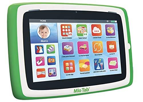 """Liscianigiochi-Mio Tab Preschool Gioco per Bambini, Edizione 2019, Multicolore, 7"""", 77373 - 1"""