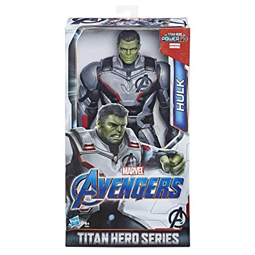 Marvel Avengers: Endgame - Hulk Titan Hero Deluxe compatibile con Power FX (Action Figure da 30 cm, Power FX non incluso) - 1