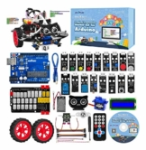 OSOYOO Graphical Programming Robot Car Starter Kit for Arduino Uno | Remote Controlled STEM Mechanical Motorized Robotics for Building Learning How to Code | Educational Coding for Kids Teens Adults - 1