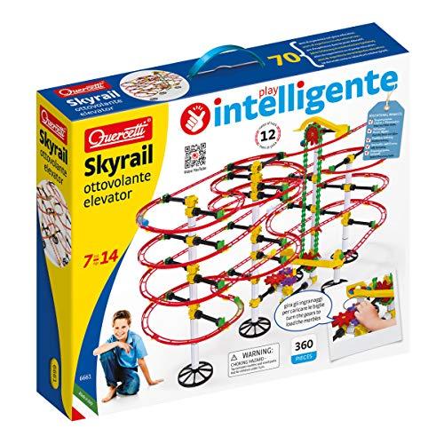 Quercetti- Skyrail Ottovolante Elevator Gioco di Costruzione, 7+, Multicolore, 6661 - 1