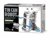 Robot con Lattina Riciclata - Tin Can Robot Fun Mechanics Kit - 1
