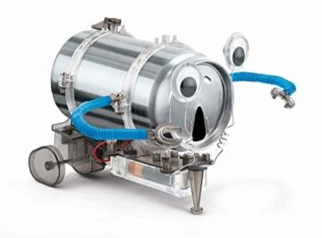 Robot con Lattina Riciclata - Tin Can Robot Fun Mechanics Kit - 3