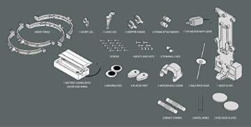 Robot con Lattina Riciclata - Tin Can Robot Fun Mechanics Kit - 5