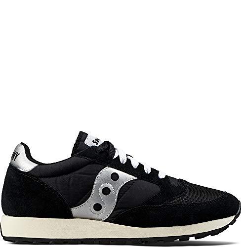 Saucony Jazz Original Vintage, Sneaker Unisex – Adulto, Nero (Black/White 10), 42 EU - 1
