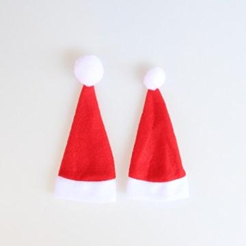 Sharondar 10 PEZZI Natale tappi Posate Titolare Forchetta Cucchiaio Tasca Natale arredamento Borsa - 5