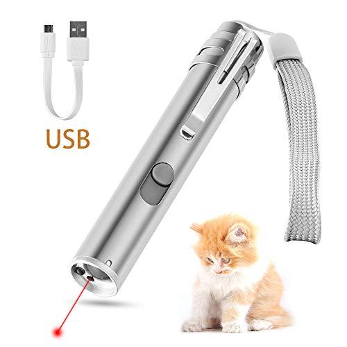 3 in1 500LM mini lampada a ricircolo LED USB in alluminio e lampada multifunzionale a torcia in pollici - 1