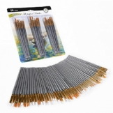 CONDA 50 Pezzi Set di Pennelli da Dipingere Pittura per Acrilico, Olio, Acquerelli - 1