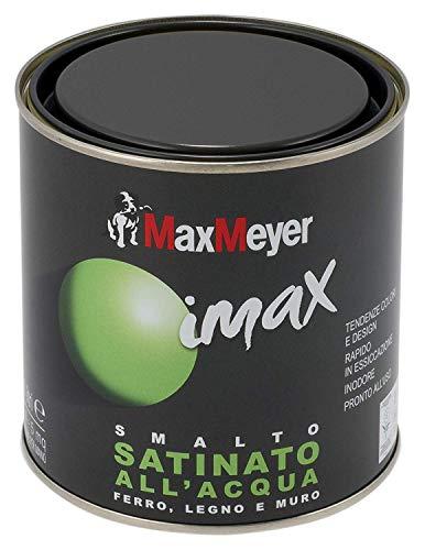 MaxMeyer 162571C400024 Smalto all'Acqua Finitura Satinata Bianco 0,5 L - 1
