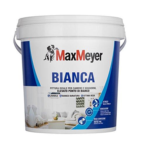 Maxmeyer 164485G500002 Lavabile per Interni Bianca 4 L - 1