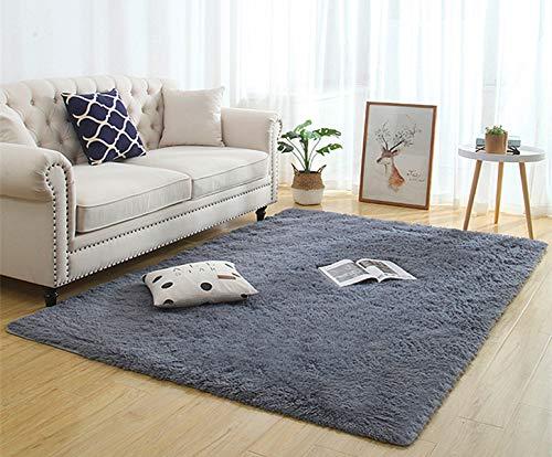 Tappeti per interni ultra morbidi, tappeti morbidi per soggiorno Tappeti per bambini adatti per la camera da letto Decorazioni per la casa Tappeti per camera da letto Dimensioni: 60x160 cm (grigio) - 1