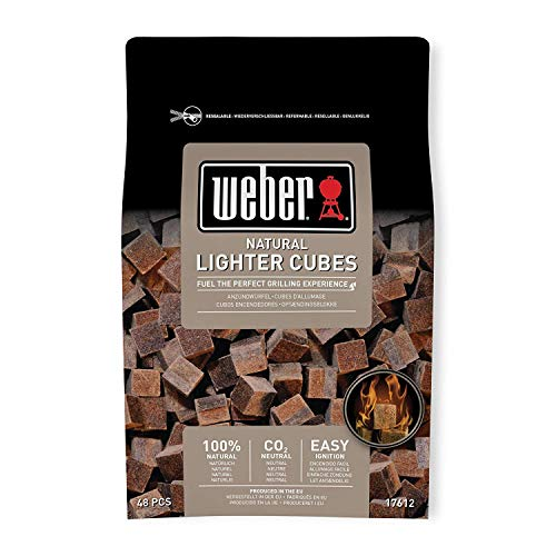 17612 Weber - Confezione da 48 pastiglie sul marrone (casella 15 - Non desempaquetable) - 1