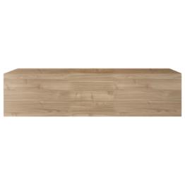 Elemento murale TV orizzontale legno chiaro ETERNEL